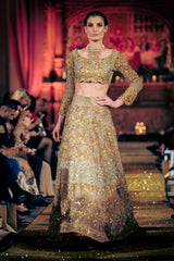 Rani Emaan - Net & Tissue Lehnga With Cholie With Duppatta - The Nightingale