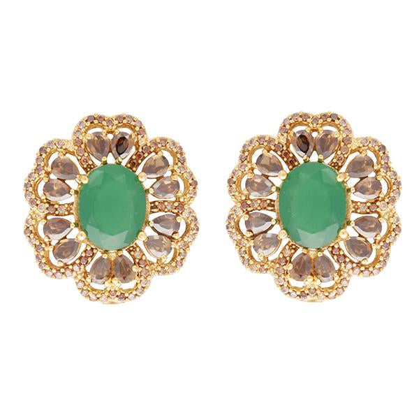 Red Dot Jewels - Green Flora