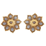 Red Dot Jewels - Grey Sunflower