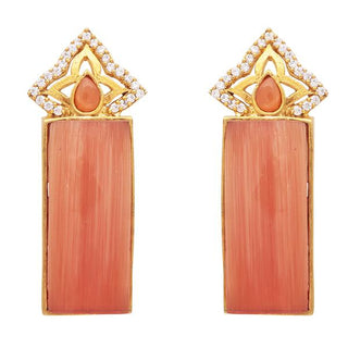 Red Dot Jewels - Orange Temple Pillar