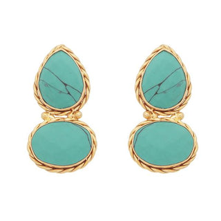 Red Dot Jewels - Turquoise Rain Catcher