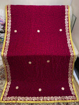 Design by Amina - Velvet Shawls with Embroidery