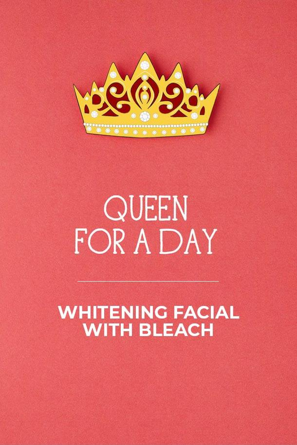 Blush Salon - Whitening Facial With Bleach