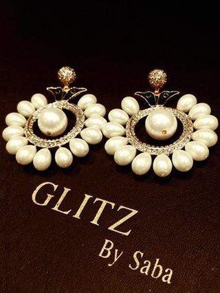 Glitz By Saba - Zavetac Earrings