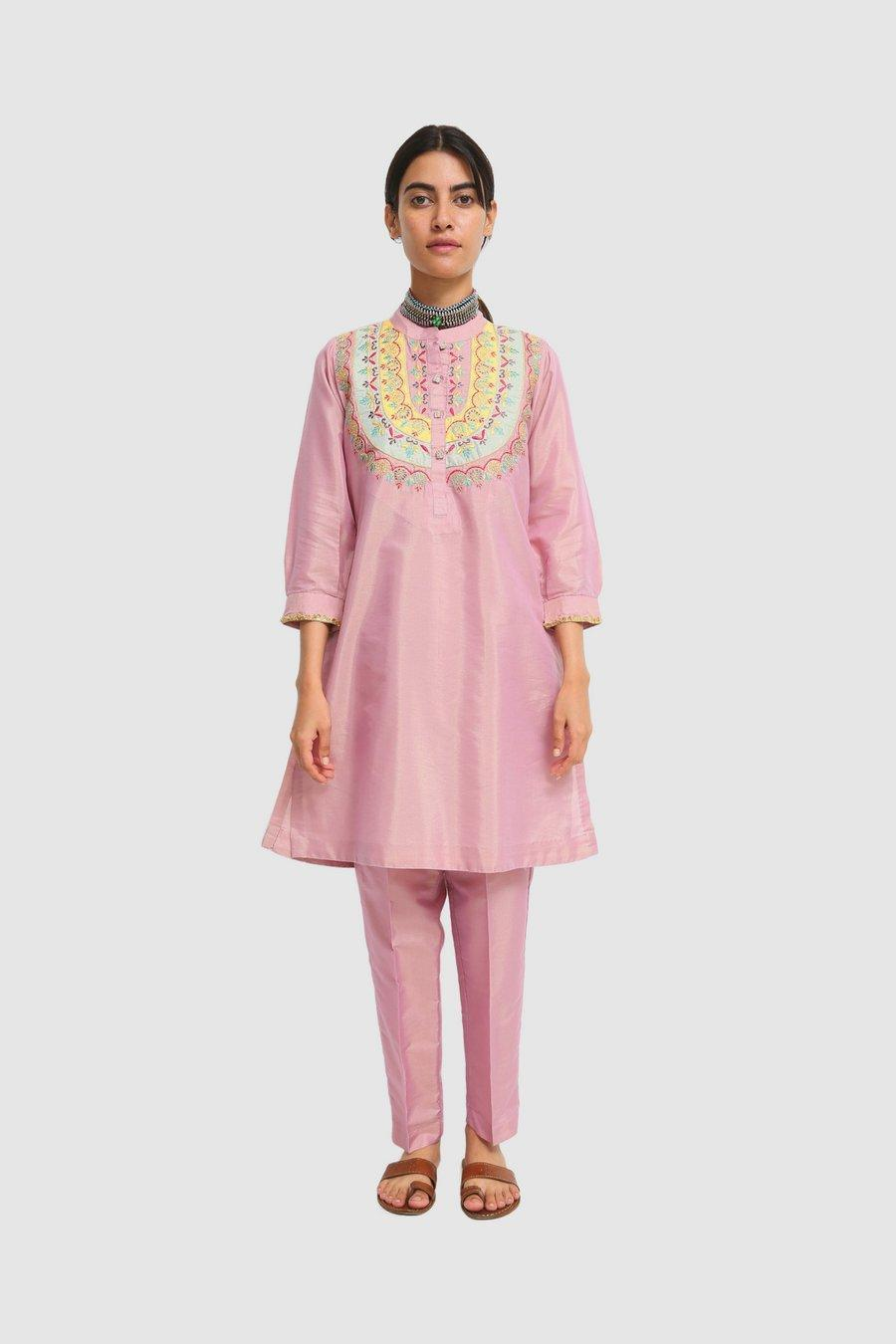 Generation - Pink Noor Bano Embroidered 2-Pc - 2 Pc