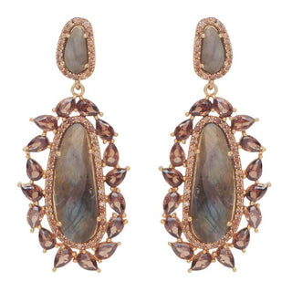 Red Dot Jewels - Anita Earrings Laborodite