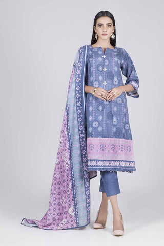 Bonanza Satrangi - BLUE EVENING SAND A- 2 PC - AWT92P006A