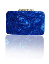 Hermosa - Valancia Blue Clutch