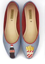 Chapter 13 - Light Blue Junk Loafers