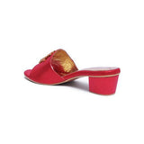 Milli Shoes - Red Slides - 1507