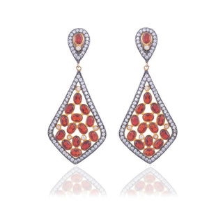 Red Dot Jewels - Diana in Red