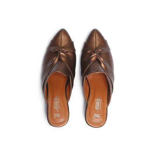 Milli Shoes - Brown Mules - 7507