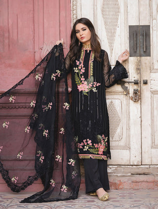 Khas Stores - Black Guldaban 3 PC - KNAC - 1101 - Unstitched