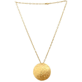 Vanessa Heaney - Gold Moon Pendant