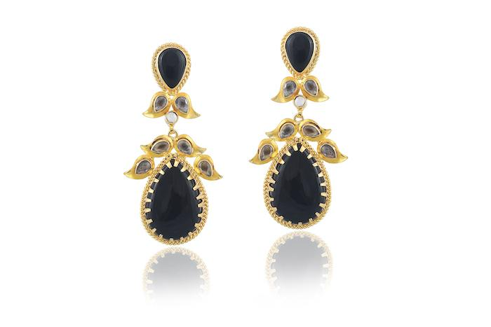 Red Dot Jewels - Jasmine in Black