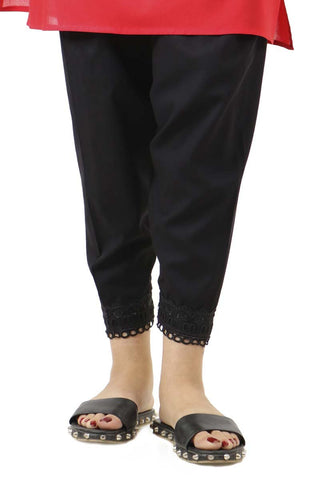 Ego - Black Sleek Shalwar 1 PC
