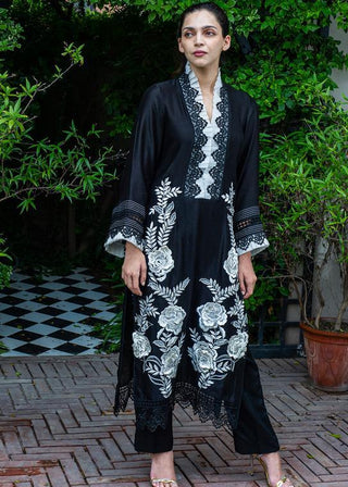 Maheen Ghani Taseer - Ebony Dress