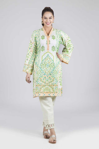 Bonanza Satrangi - Green Jadsheen - 1 PC