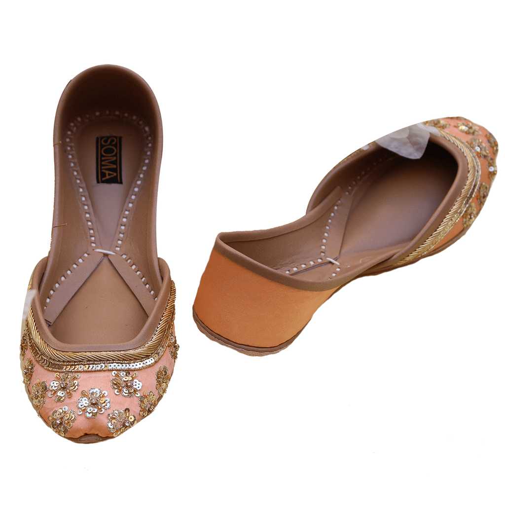 Soma - Peach Tulip Hand Crafted Footwear