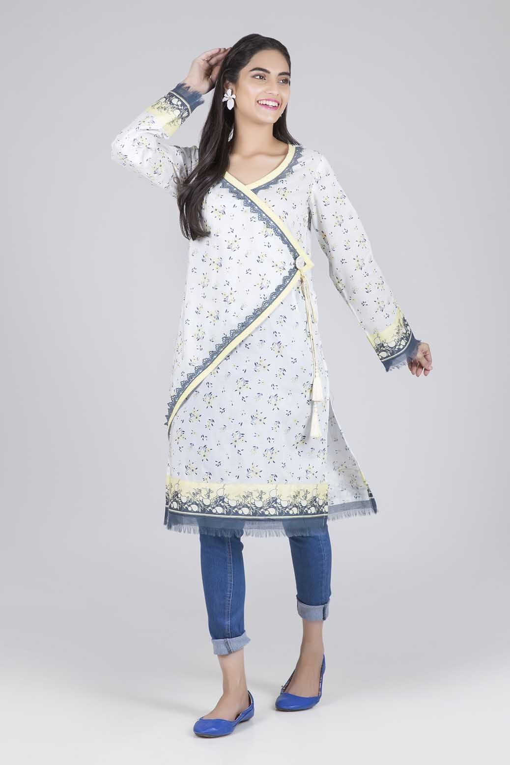 Bonanza Satrangi - White Spring Radiance - 1 PC
