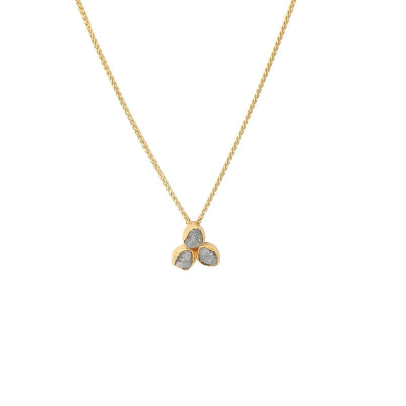 Vanessa Heaney - rough diamond pendant