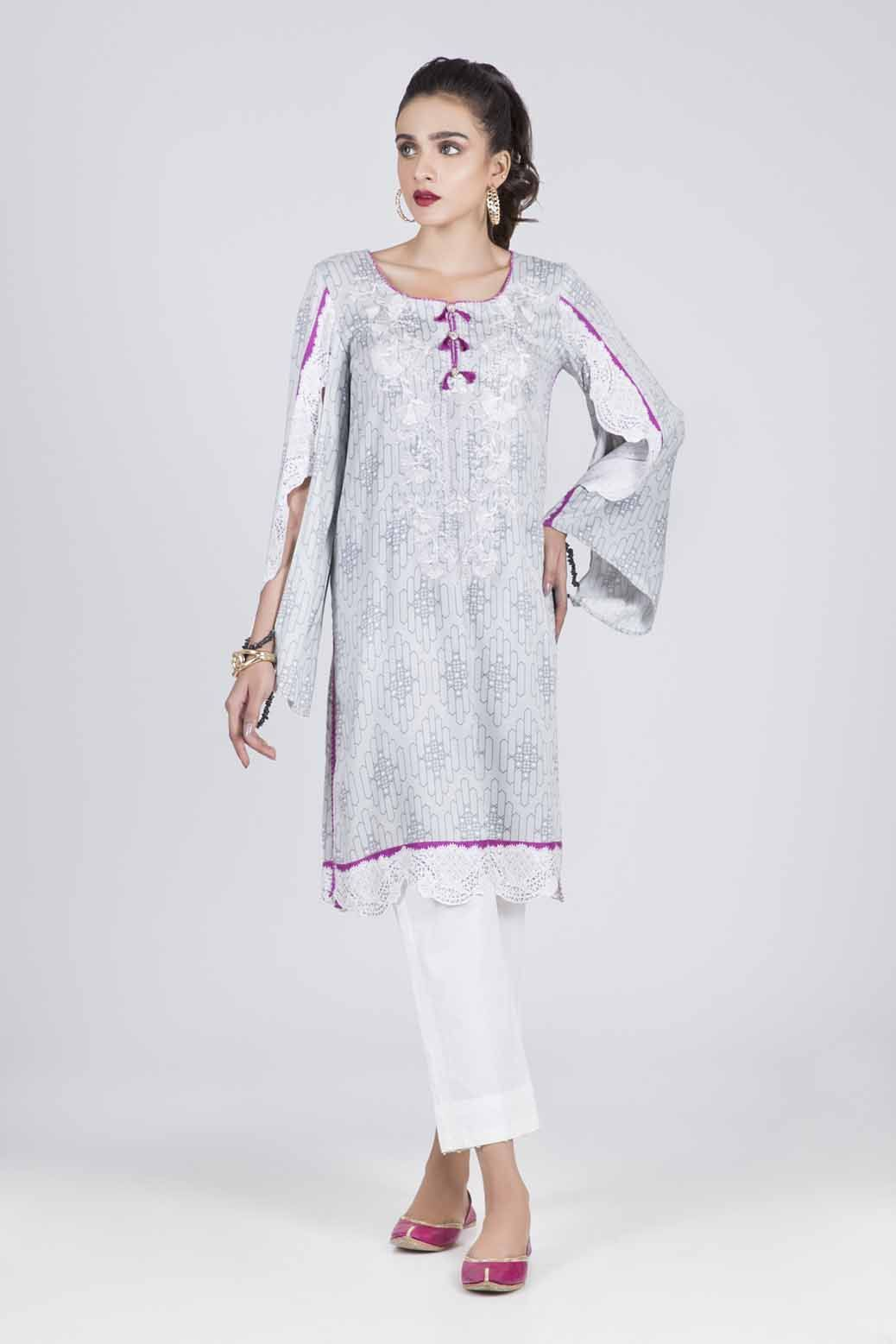 Bonanza Satrangi - GRAY GRACE - 1 PC - RWT91P003