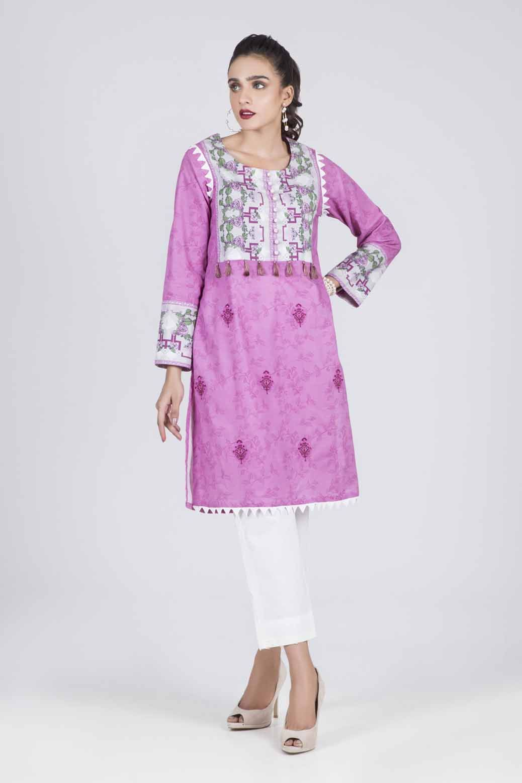 Bonanza Satrangi - PURPLE ROSEY - 1 PC - RWT91P005