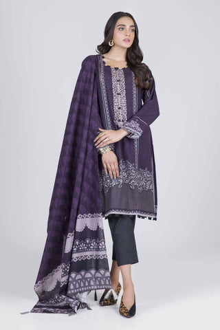 Bonanza Satrangi - PURPLE DELICATE B - 2 PC - RWT92P001B