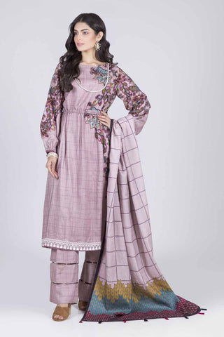 Bonanza Satrangi - PINK WINTER WALK A - 3 PC - RWT93P009A