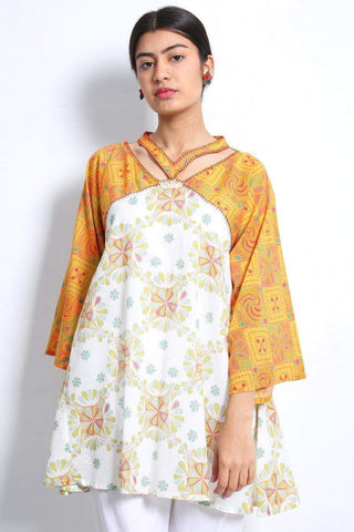 Generation - White Summer In Bengal Top - 1 PC