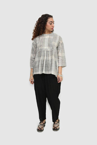 Generation - Off White Line Of Wind Monochromatic Top - 1 PC