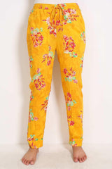 Generation - Yellow Pyjama Party Straight Pants
