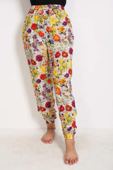 Generation - Multi Color Pyjama Party Cinched Ankle Pants