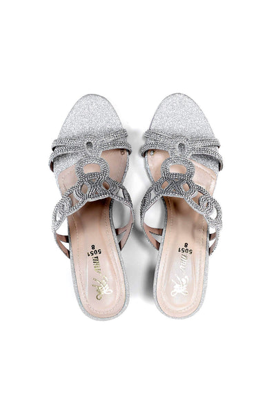 Milli Shoes - Silver Heels  - 1522