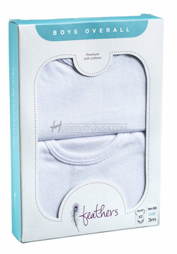 feathers-baby-boy-overall-solid-white-short-sleeve-onesies