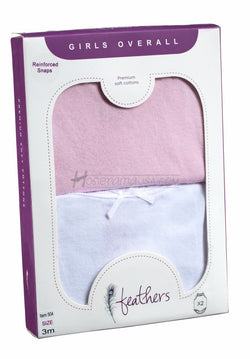 feathers-sleeveless-onesies-for-girls-colors-pink-white-solid-baby-underwear