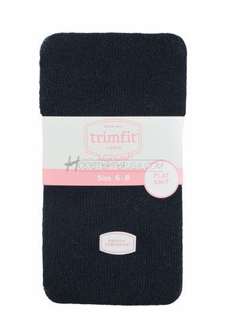 Trimfit flat knit cotton tights -TRIMFIT-TIGHTS- Hosierama