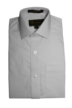 Van Dyck boys white dress shirt-long sleeves -VAN DYCK-shirts- Hosierama