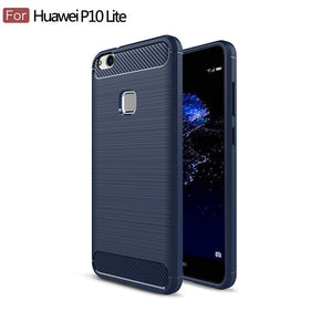 Carbon Fiber Case For Huawei P10 Lite - Eureka Choice