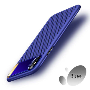 Ultra Sllim Breathable Case For IPhone X