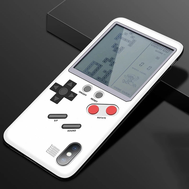 GameBoy Retrogaming Case For iPhone X