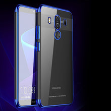 Ultra thin transparent plating case for Huawei Mate 10 Pro