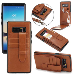 Luxury Leather Flip Case for Samsung Galaxy Note 8