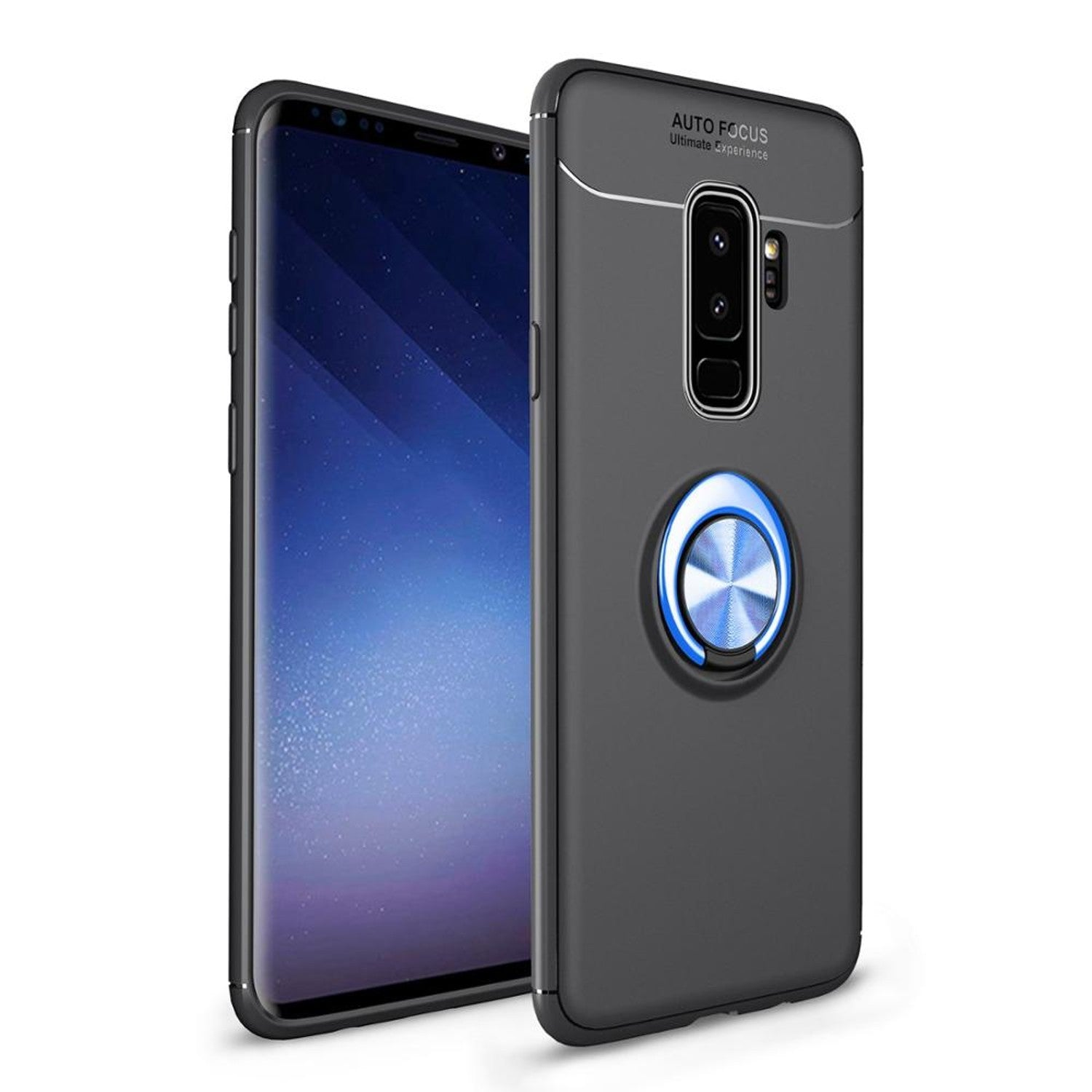 Luxury 360 Ring Hard Case For Samsung Galaxy S9 S9