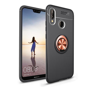 Premium 360 Ring Shockproof Case For Huawei P20 Lite/ P20 / P20 Pro