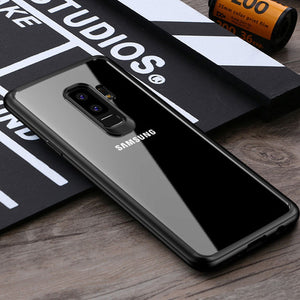 Fashion & Protective Transparent Cover For Samsung S9+