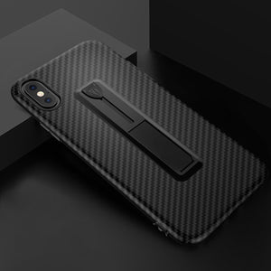 Ultra Thin Carbon Fiber Texture Case For iPhone's