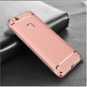 Premium 3-in-1 Frosted Shockproof Plating Case for Huawei P10 Lite / P10