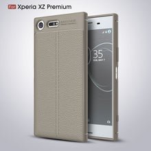Ultra Thin Soft Litchi Case For Sony Xperia XZ Premium