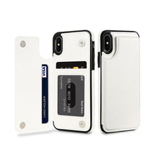 Fashion Flip Card Holder Leather Wallet For iPhone X - Eureka Choice